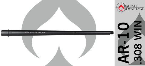 "20"" Ballistic Advantage Modern Series Heavy Profile .308 WIN AR10 Barrel"