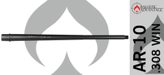 "Ballistic Advantage 20"" AR10 .308 WIN Heavy Barrel"