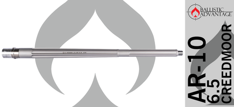 "22"" Ballistic Advantage Premium Series 6.5 Creedmoor Barrel - Fluted"