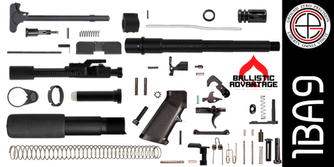 "DIY 9"" Ballistic Advantage 300 Blackout AR-15 Pistol Project Kit (1BA9) Without Upper - FREE SHIPPING"