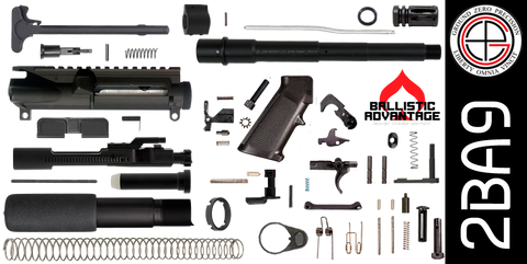 "DIY 9"" Ballistic Advantage 300 Blackout AR-15 Pistol Project Kit (2BA9)"