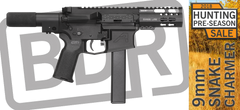 Snake Charmer AR15 9mm Pistol Black Dirt Rifleworks