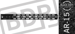 "15"" M-Lok Ultra Light AR 15 Free Float Handguard"