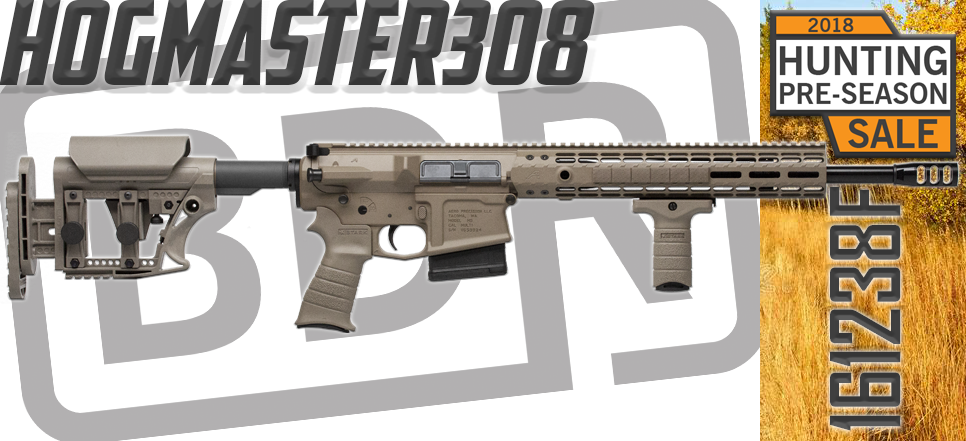 Black Dirt Rifleworks Hogmaster 308 Rifle