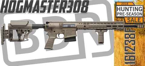HOGMASTER308 FDE .308 WIN RIFLE - 161238F