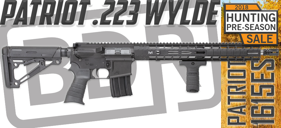 Black Dirt Rifleworks Patriot .223 Wylde 1615ES