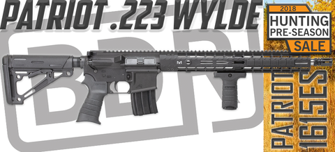 FLASH SALE - PATRIOT 1615ES .223 WYLDE X15E1 AR15 RIFLE - ONLY 5 LEFT!