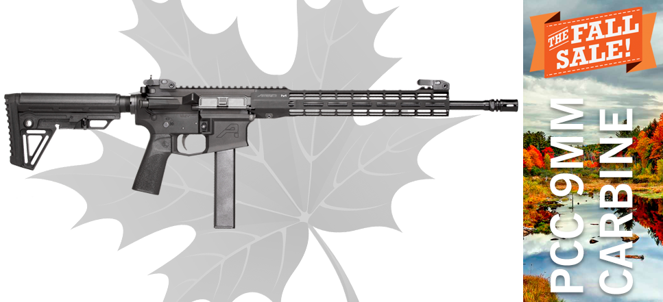 Black Dirt Rifleworks PCC 9MM Carbine ST