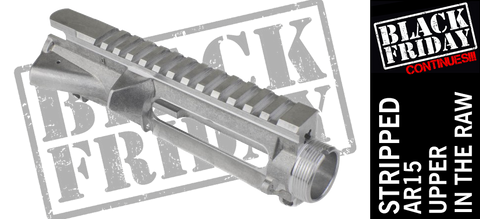 Aero Precision Stripped AR15 Upper Receiver - Raw Aluminum