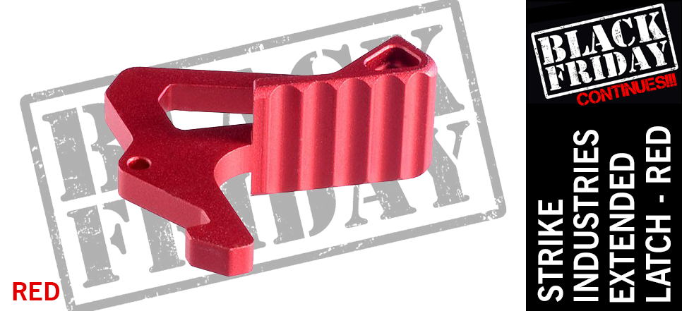Strike Industries Extended Latch Red