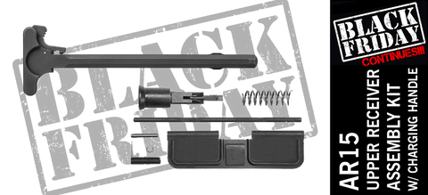 AR15 Upper Receiver Assembly Kit With Charging Handle
