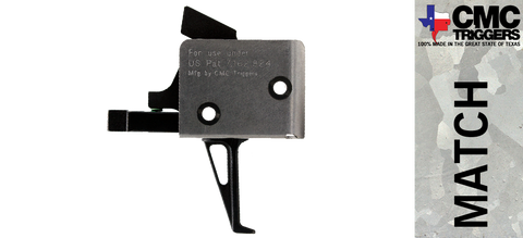 CMC Single Stage Drop-in AR-15/10 Trigger - Flat - *Multiple Pull Weights Available*