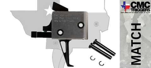 CMC Single Stage Drop-in AR-15/10 Trigger - Flat