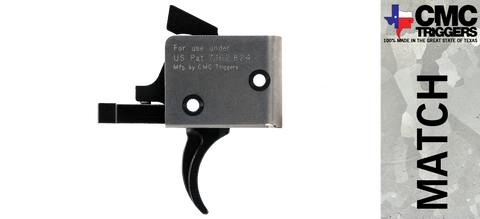 CMC Single Stage Drop-in AR-15/10 Trigger - Curved - *Multiple Pull Weights Available*
