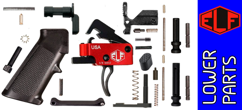 Enhanced Parts Kit for DPMS Profile .308 Lower Receivers with Elftmann Tactical Heavy Trigger
