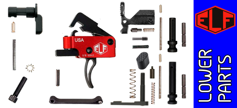 Enhanced Parts Kit for DPMS Profile AR .308 Lower Receivers with Elftmann Tactical Heavy Trigger - No Grip