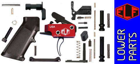 Enhanced Parts Kit for DPMS Profile AR .308 Lower Receivers with Elftmann Tactical Match Trigger