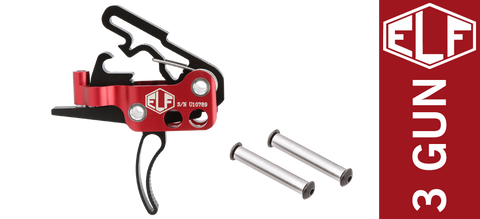 Elftmann Tactical ELF Drop-In 3-Gun Competition AR Trigger - Curved