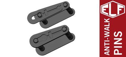 Elftmann Tactical Non-Rotating Anti-walk AR Trigger & Hammer Pins