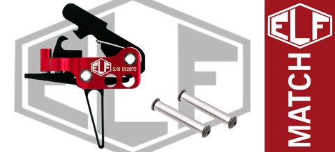 Elftmann Tactical ELF Match Drop-In AR Trigger - Flat
