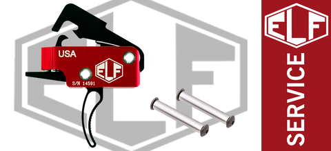 Elftmann Tactical ELF Service Drop-In AR Trigger - Curved