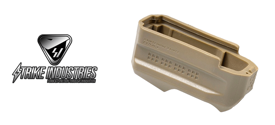 Strike Industries Enhanced Magazine Plate - E.M.P+5 (FDE)