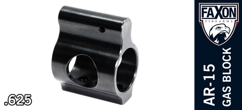 FAXON Firearms Ultra Low Profile AR Gas Block - .625