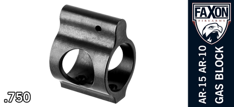 FAXON Firearms Ultra Low Profile AR Gas Block - .750