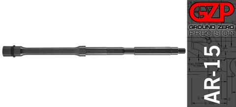 "16"" 5.56 NATO QPQ Nitride AR-15 Barrel - 1:9 Twist"