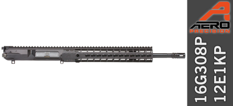 "16"" Aero Precision M5E1 Enhanced .308 WIN AR Upper Receiver (16G308P-12E1KP)"