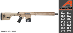"Aero Precision 16"" .308 WIN Rifle FDE"