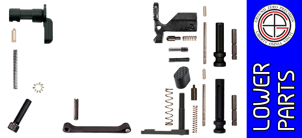 Customizable Enhanced Parts Kit for DPMS Profile AR .308 Lower Receivers