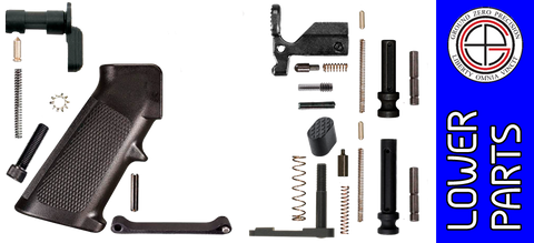 Enhanced Parts Kit for DPMS Profile AR .308 Lower Receivers - No Fire Control Group
