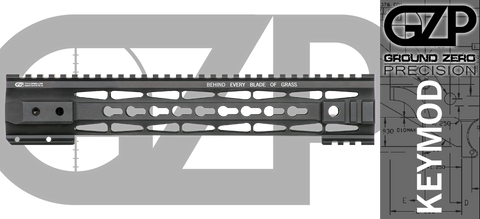 "12.5"" TAC-HUNTER G2M1 KEYMOD Handguard for DPMS Low Profile AR-10"
