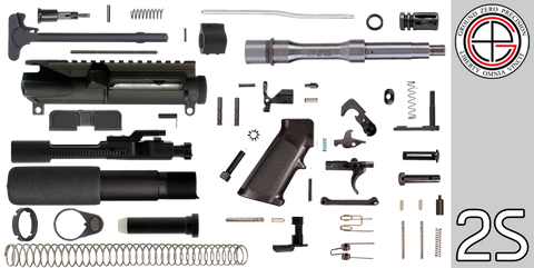 "DIY 7.5"" Stainless .223 / 5.56 AR-15 Pistol Project Kit (2S) - FREE SHIPPING"