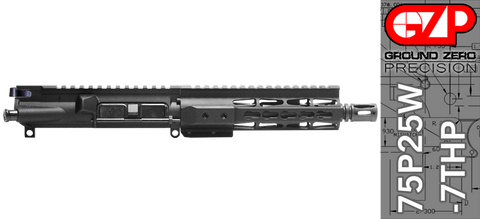 "7.5"" Free-Floated Keymod .223 / 5.56 AR-15 Upper Receiver (75P25W-7THP)"