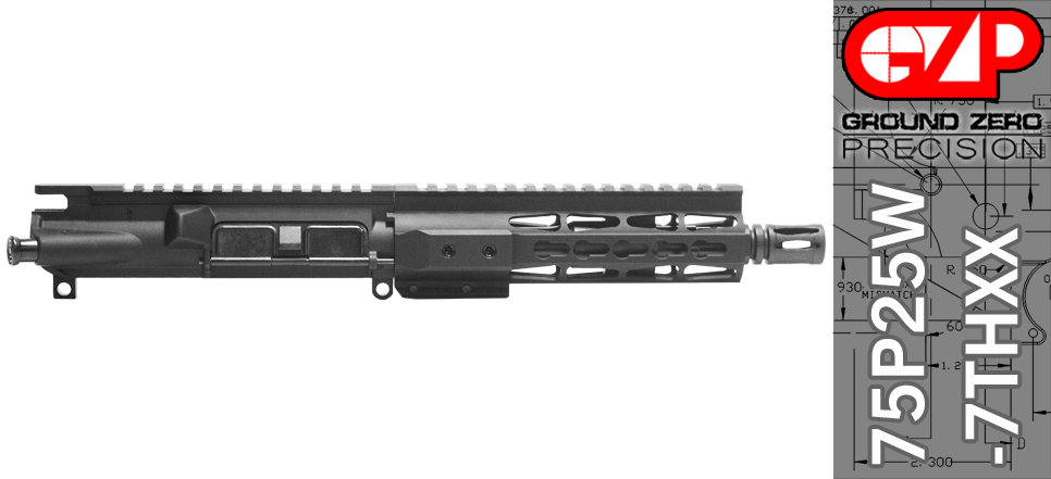 AR 15 Pistol Upper Receiver .223 / 5.56