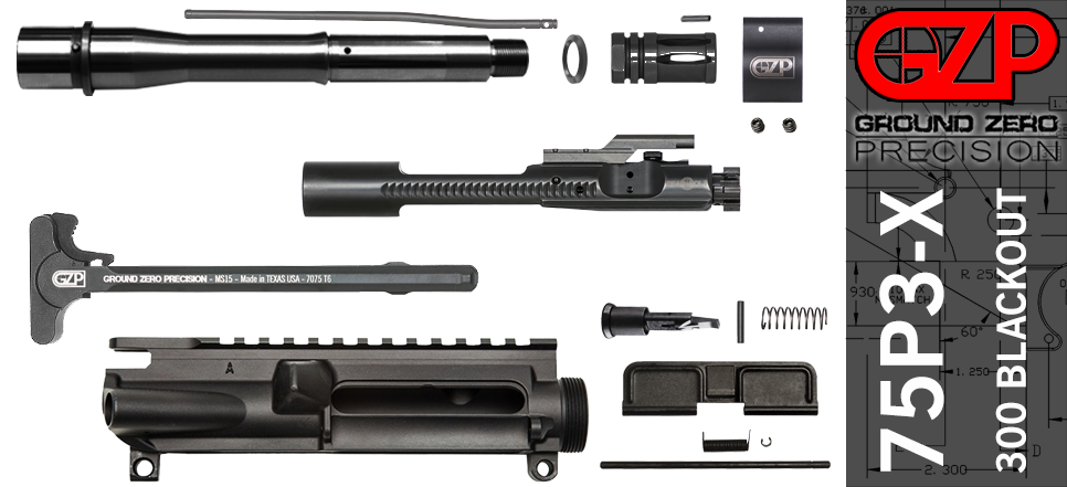 AR-15 300 Blackout Upper Receiver Kit