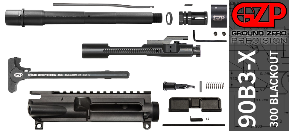 "9"" AR-15 Ballistic Advantage 300 Blackout Upper Receiver Kit"