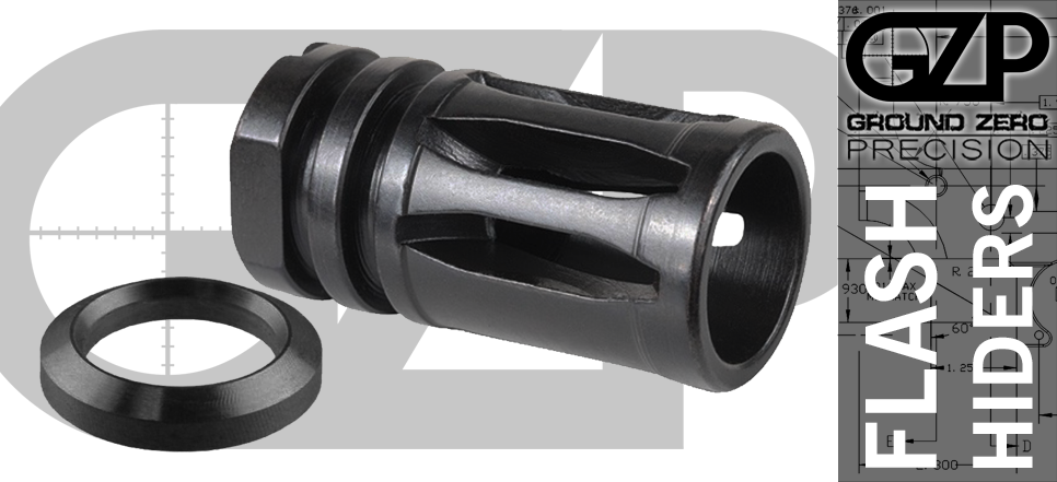 A2 Flash Hider with Crush Washer