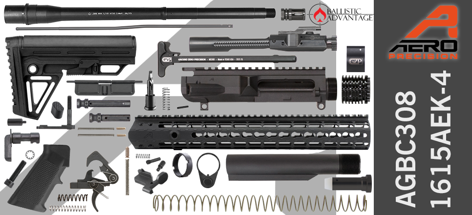 Aero Precision & Ballistic Advantage .308 WIN DIY AR-10 Kit