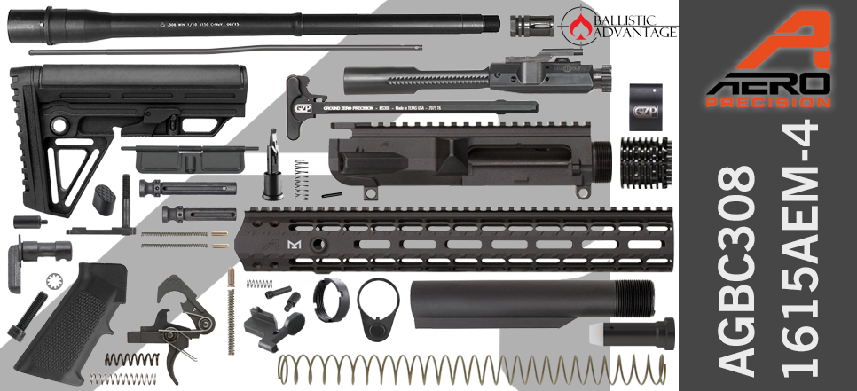 Aero Precision & Ballistic Advantage .308 WIN DPMS Profile DIY AR-10 Kit