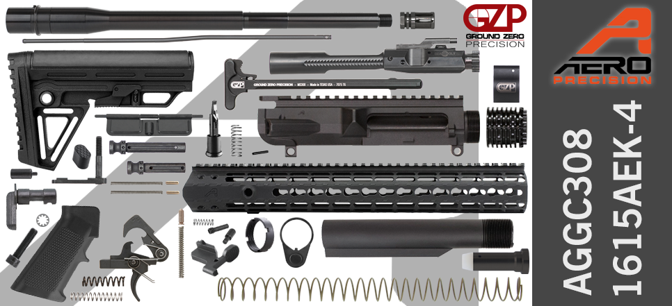 Aero Precision & Ground Zero Precision .308 WIN DPMS Profile DIY AR-10 Kit