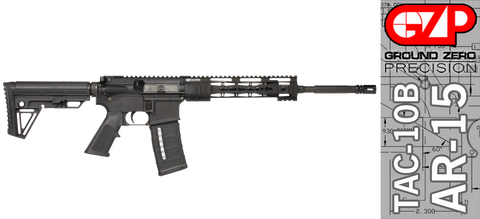 Ground Zero Precision Tactical and Sporting Rifle TAC-10B (Keymod)