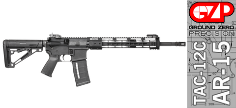 Ground Zero Precision Tactical and Sporting Rifle TAC-12C (Keymod)