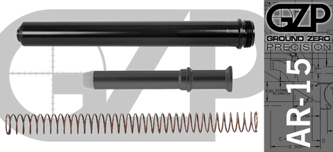 AR-15 Rifle Buffer Tube Extension KIt