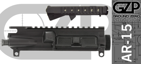 Ground Zero Precision Assembled AR-15 Upper Receiver (T-Marked)