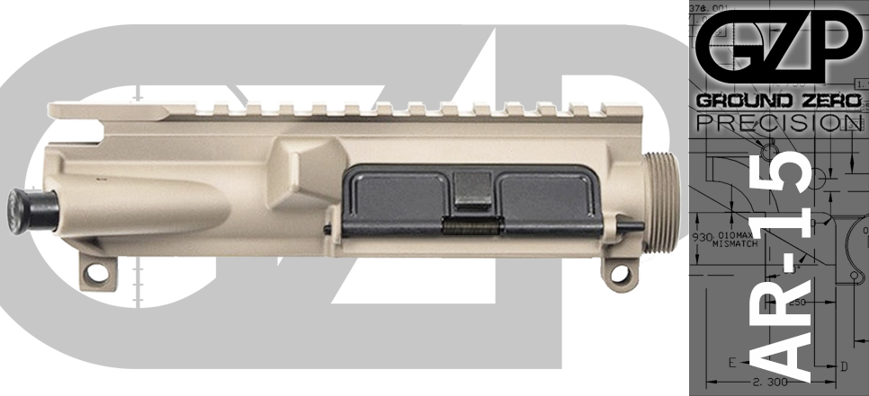 Assembled AR15 Upper Receiver FDE