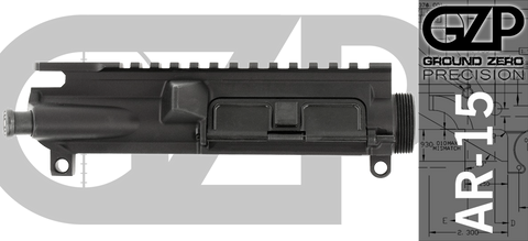 Ground Zero Precision Assembled AR-15 Upper Receiver