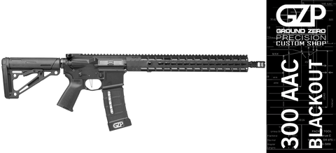 GZP Custom Shop 300 AAC Blackout Field Rifle